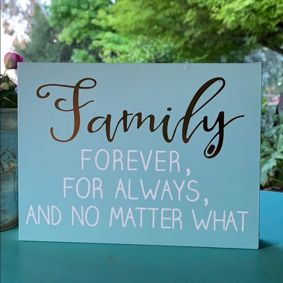 Barnyard designs Other - Family wood box sign